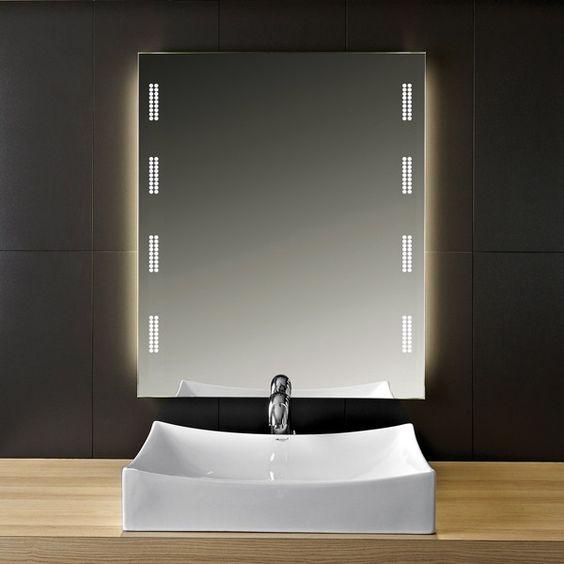 Badezimmerspiegel LED Fortuna 989703628