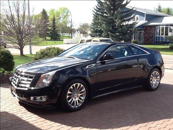This is the reason I love my commute...2013 Cadillac CTS Coupe