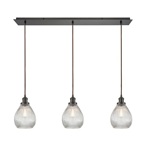 Elk Lighting 56582 3lp Jackson Oil