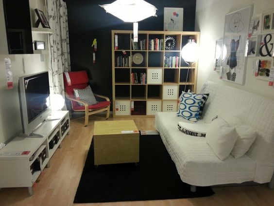 Small basement ideas ikea image mag - Small spaces ikea photos ...