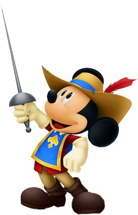 Mickey as a Musketeer | Mickey Mouse And Friends | Pinterest ...