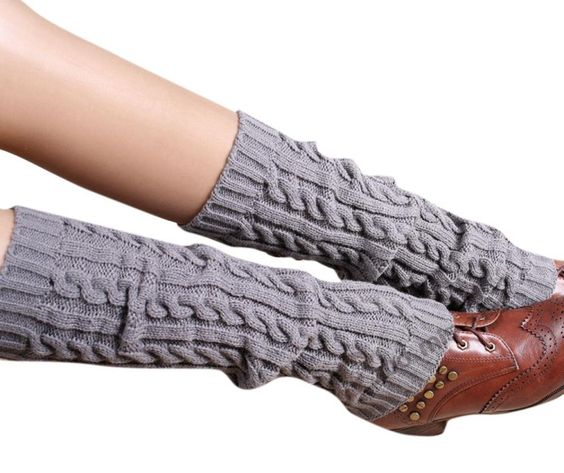 Enlishop Women's Winter Warm Long Christmas Cute Leg Warmer Knitted Socks Black. Material: 100% Acrylic Fibers. Features: You'd better wash it by hands in water.There is a little difference about colour problem between the webpage and the real project, please be attention to it.All products of our brand is free shipping,it cost about 7 to 14 days for the express de. Please allow little color difference due to different camera or light environment. Free shipping, delivery time is 8-14...