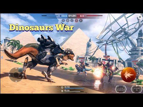 Jurassic Monster World Dinosaurs War Walkthrough Android Ios Gameplay Youtube In 2021 Dinosaur Jurassic Gameplay