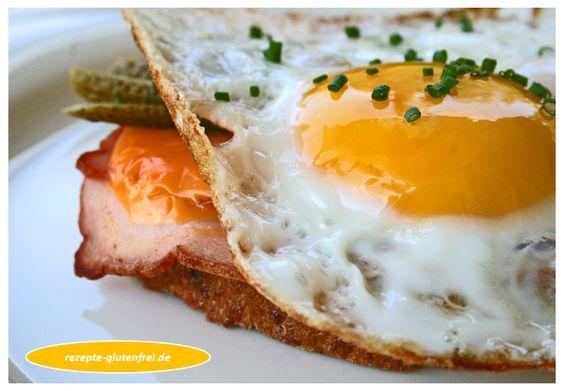 Glutenfreier bayerischer Toast! Ein herzhaftes Geschmackserlebnis! www.rezepte-glutenfrei.de