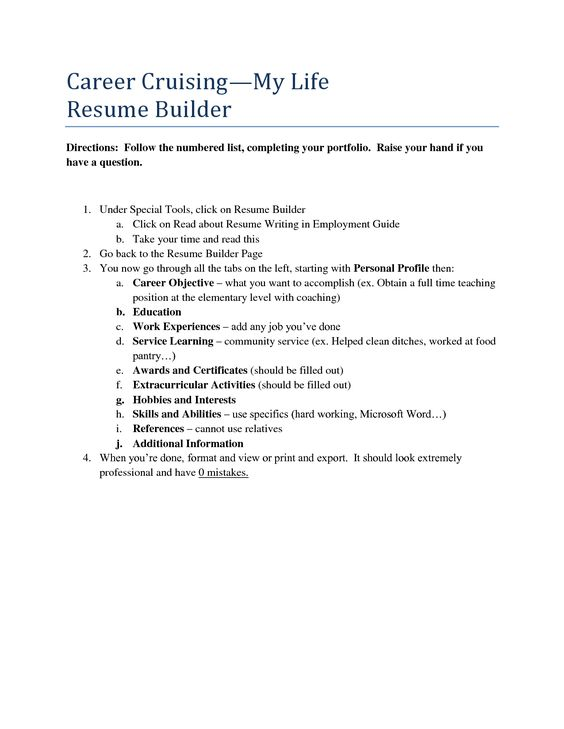 career builder resume samples templates and builders qbdrj Home - career cruising resume builder