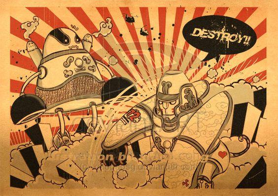 Destroy II by xiaobaosg.deviantart.com on @deviantART