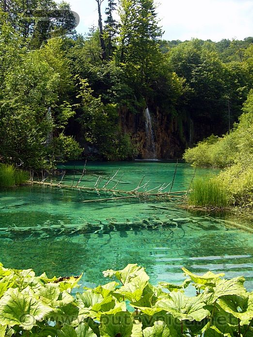 Plitvička jezera - Jezero i slapovi