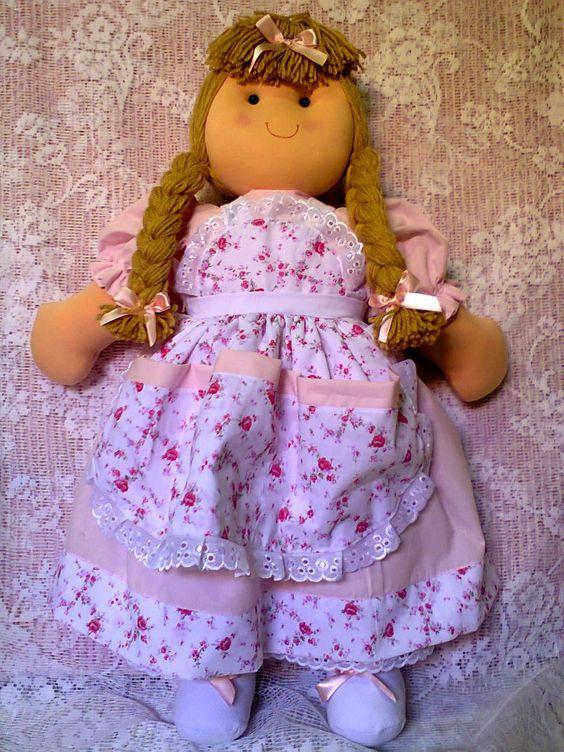SWEET SOFIA: Boneca porta fraldas Ana Clara .80cm Em malha ant...