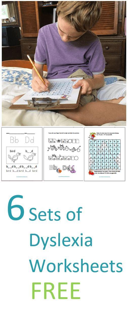 6 Sets Of Dyslexia Worksheets Dyslexia Activities Dyslexia Dyslexia Resources Dyslexia worksheets for kindergarten