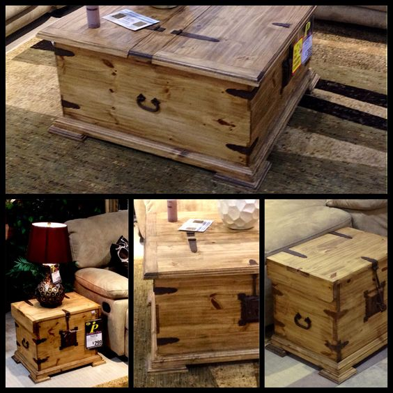 Trunks Coffee And Coffee Tables On Pinterest