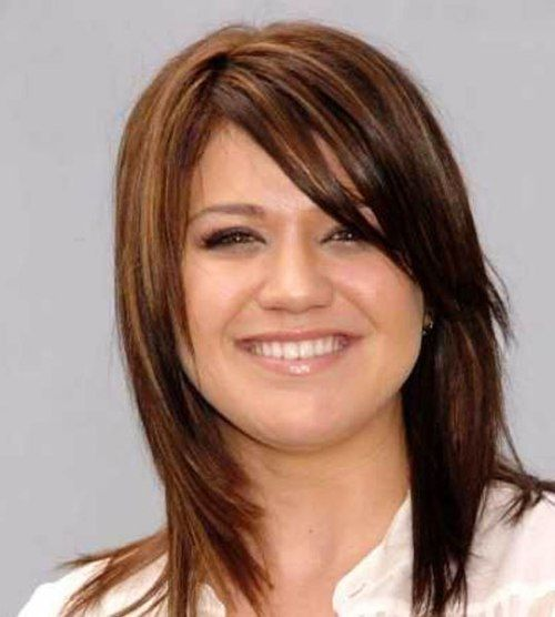 Admirable Haircuts With Bangs Style And Face Shapes On Pinterest Short Hairstyles Gunalazisus