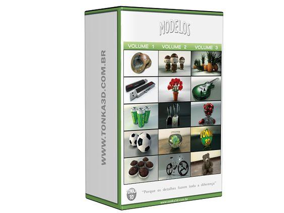Curso Modelagem 3D BOX -   http://tonka3d.com.br/curso-modelagem-3d-volume1.html