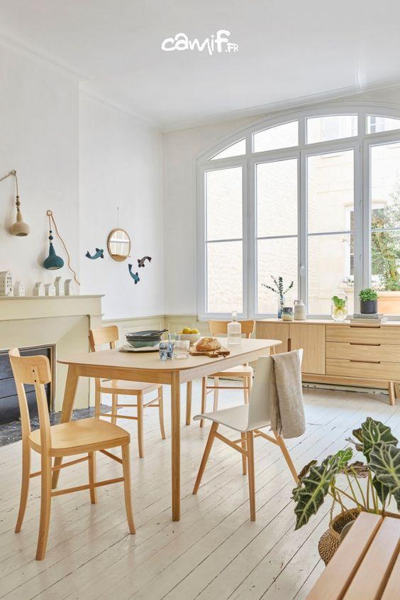 Table En Chene Camif Fr Mobilier De Salon Designs De Petite Cuisine Decoration Francaise