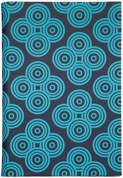 Jonathan Adler Mandala Cover in Navy and Turquoise