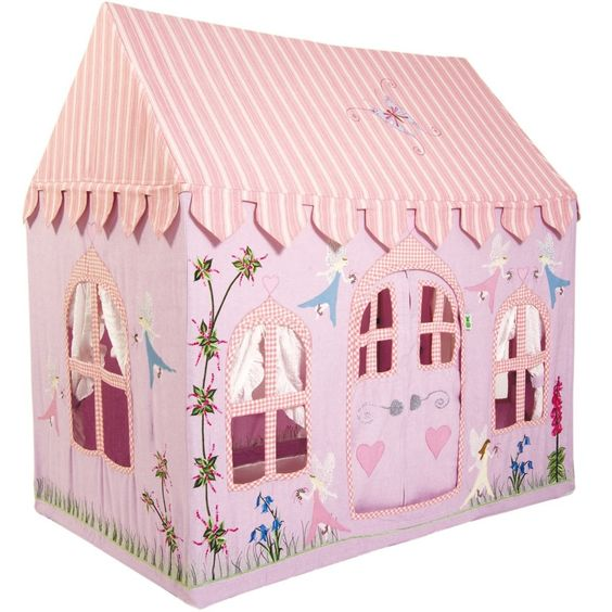 Win Green Small Fairy Cottage Playhouse: Amazon.co.uk: Toys & Games