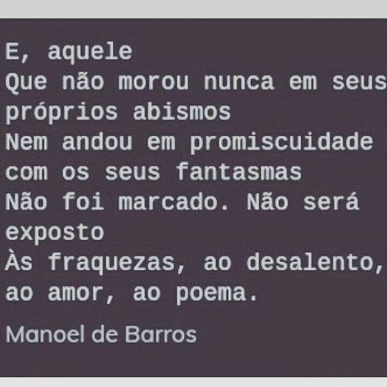 Bom dia poético🌞🌞🌞 #poesia #poema #clinicadevir #esquizoanalise #esquizo #psicologia #psico #psicoterapia #manoeldebarros #atendimentoclinico #uberaba #minasgerais