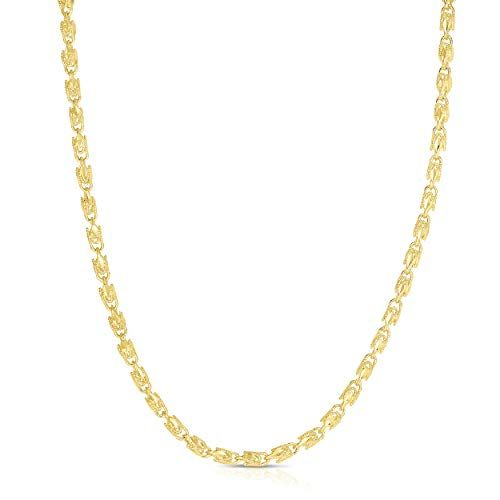 Floreo 10k Yellow Gold 2 5mm Solid Turkish Rope Chain Necklace Ad Gold Advertisement Yellow Floreo Mm Necklace Chain Necklace Rope Necklace
