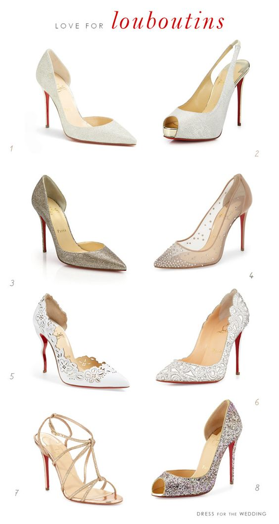 Designer Shoes for Weddings : Favorite wedding shoes by Christian Louboutin