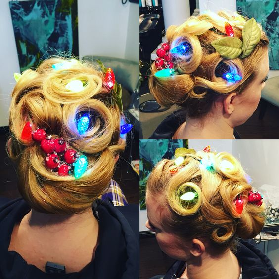 #holidayhair #hair #christmashair #updo #hairbymonica #mantrasalon