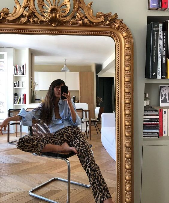 leopard print pants #style #ootd
