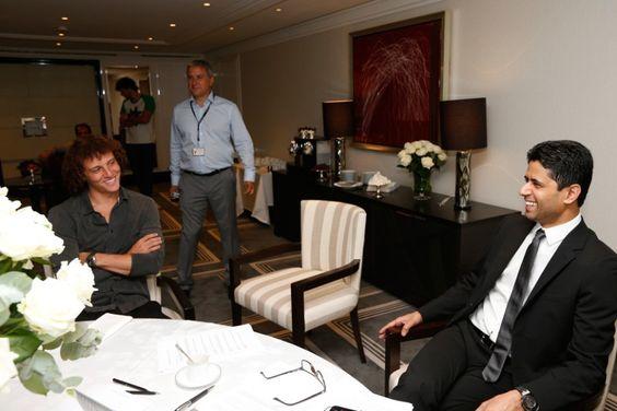 David Luiz press conference - psg.fr