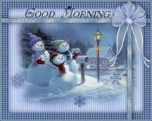 Love... Blue... Snowmen...♡