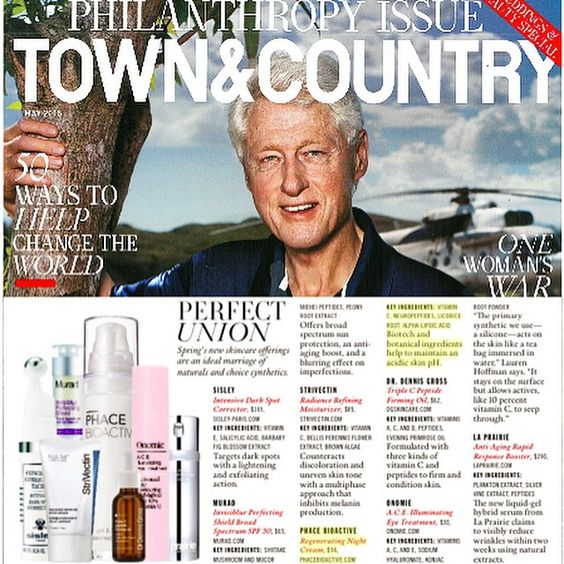 Marisa Arredondo, Huge honor to be quoted in the *SUPER* May issue of Town & Country Magazine alongside industry veterans Dr. Dennis Gross, the Director of Innovation at La Prairie, and the Founder of Blue Mercury, AND to be featured - PHACE BIOACTIVE's Regenerating Night Cream. #thephacelife #ph #phbalance #beauty #health #wellness #clearskin #healthyskin #antiaging #editorial #selflove #detox #mindfulness #natural #naturalskincare #skin #skincare #pure #glow #thephaceglow #happy #exciting