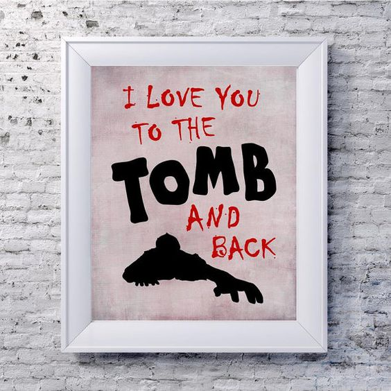 Quotes About Zombie Love : ... Love Quotes zombie apocalypse geekery - romantic zombie quote poster