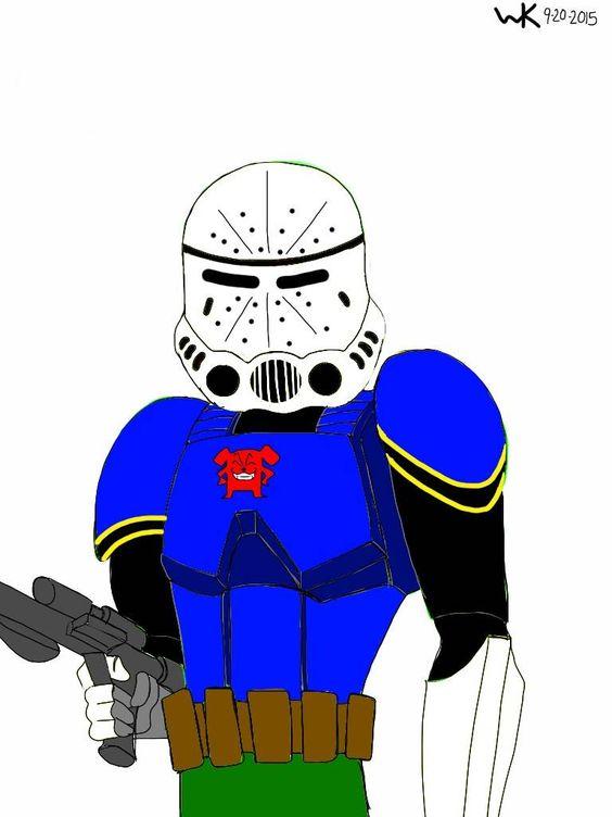stormtrooper/wild dog (dc comic)