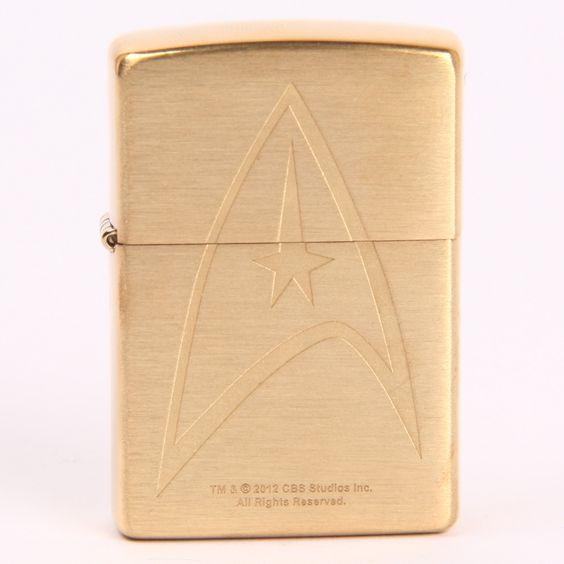 Official Star Trek Command Uniform Zippo