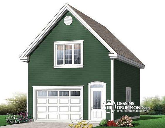 Plan De Garage W2998 Green Plans De Garage Mod Les De