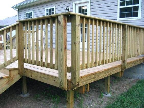 How To Build Custom Deck Railings Wood Deck Railing Deck Railing Design Custom Deck Railing