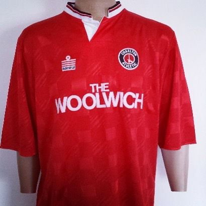 1989-91 Charlton Athletic Home Shirt XL - class admiral shirt from @topcornershirts #admiral #getshirty #charltonathletic #footballshirtcollective