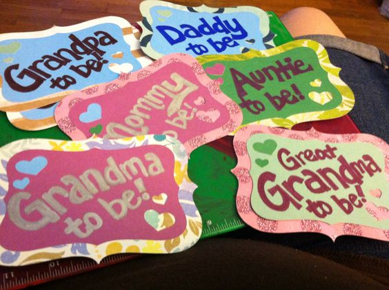 Name tags for the family