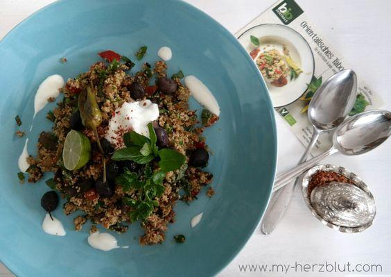 Orientalisches Taboulé - Rezept jetzt auf dem Blog!