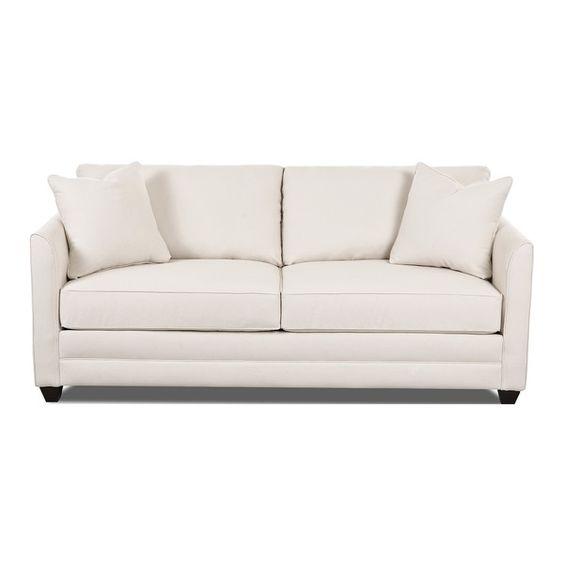 """Wayfair Custom Upholstery Sarah -77"""", 130 lbs, $800, ( 37"""" H x 77"""" W x 34"""" D)"""