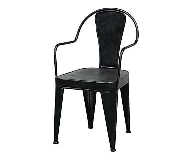Chaise, noir - L50