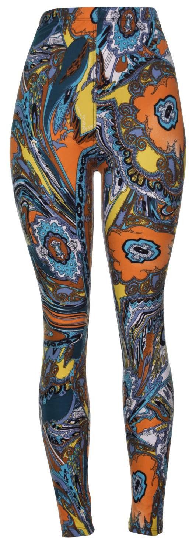 High Quality Printed Leggings Regular, Plus in Full length / Capri length - Water Phoenix