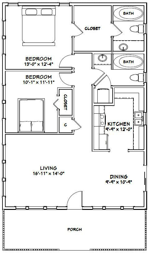 12 Marvelous Bedroom Remodeling Teenage Ideas In 2020 Small House Floor Plans Tiny House Plans Floor Plans