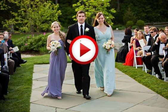 Groomsman takes out bridesmaid #fails, #funny, #wedding, #videos, #videobox, #pinsland