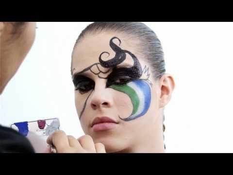 Máscara de Carnaval - Catharine Hill por JRLamonica