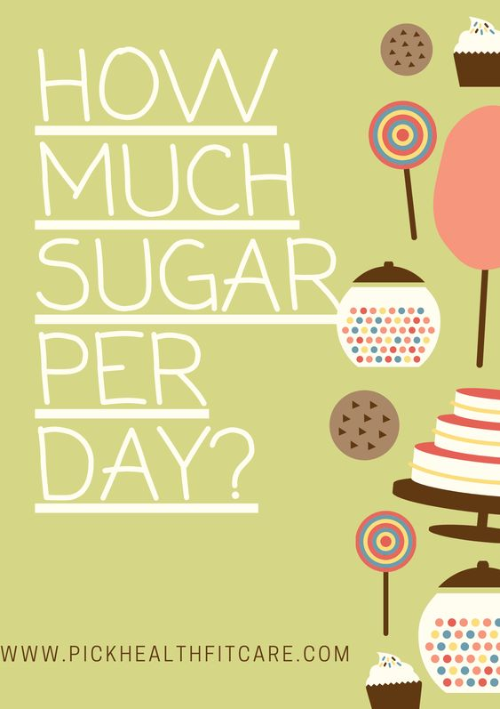 sugar consumption - how much sugar per day