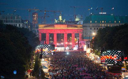 Fest zum Tag der Deutschen Einheit 2015