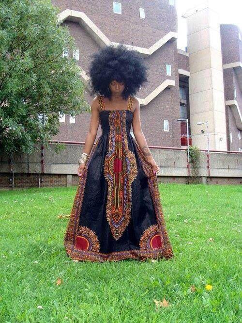 Robes Longues En Tissu Pagne