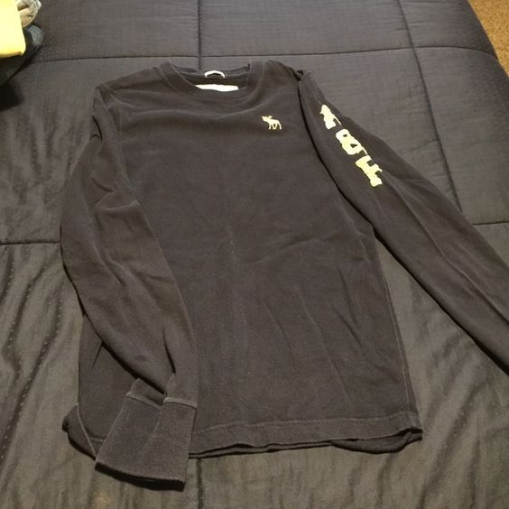 Long sleeve Abercrombie and Fitch shirt Long sleeve Abercrombie and Fitch shirt! A tad faded but in great shape! Abercrombie & Fitch Tops Tees - Long Sleeve