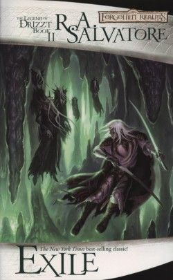 The Legend of Drizzt, book 2.