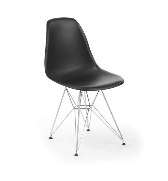 Charles Eames,spisestue stol DKR chrome