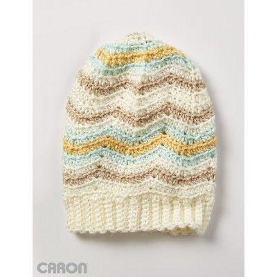 Free Crochet Zig Zag Hat Pattern : Pinterest The world s catalog of ideas