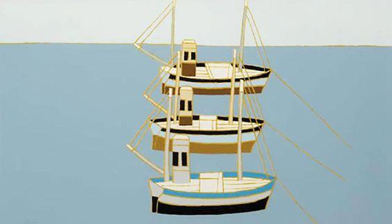 Three Boats - Bryan Pearce