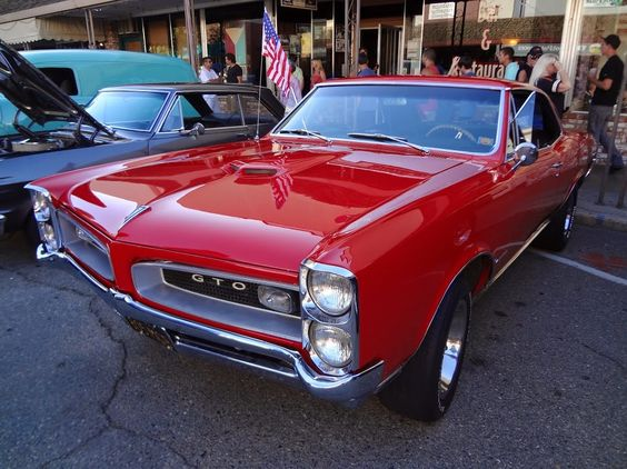 Pontiac GTO From Auburn California Cruise Nights